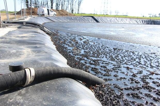 transport digestat par canalisations d'irrigation