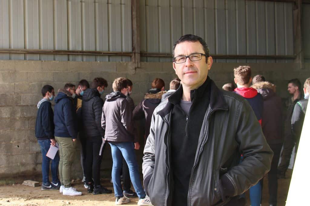 Yann Henry, directeur CFA-MFR de Chemillé