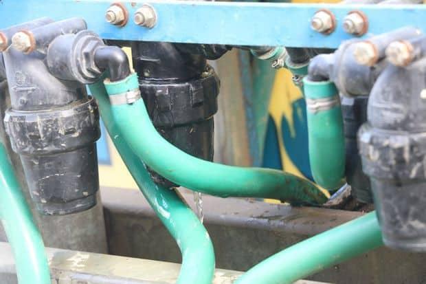 fuite hydraulique