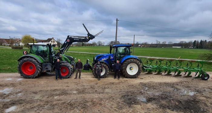 mutualisation des tracteurs à la cuma du Petit Orléanais