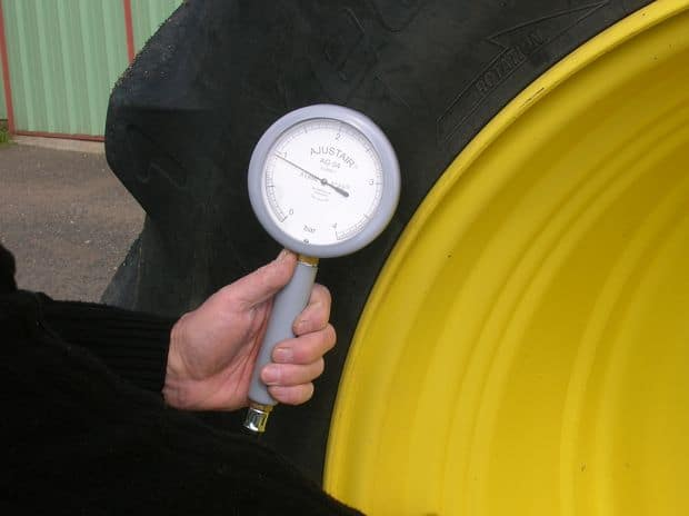 pression pneu agricole