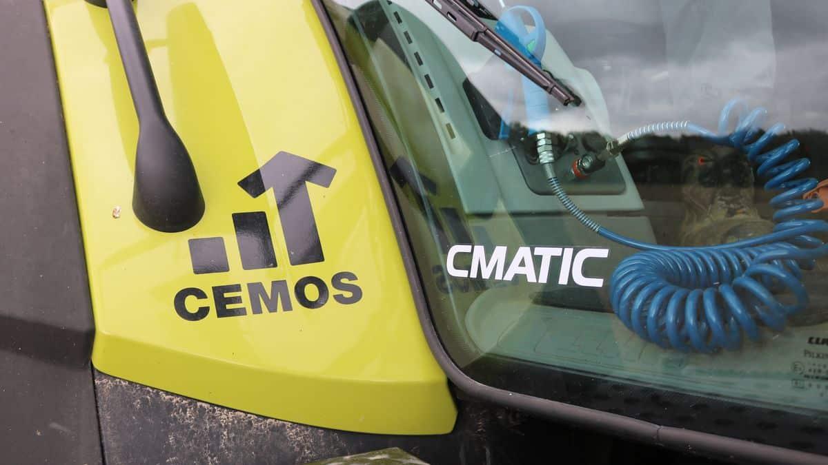 Claas Cemos tracteur