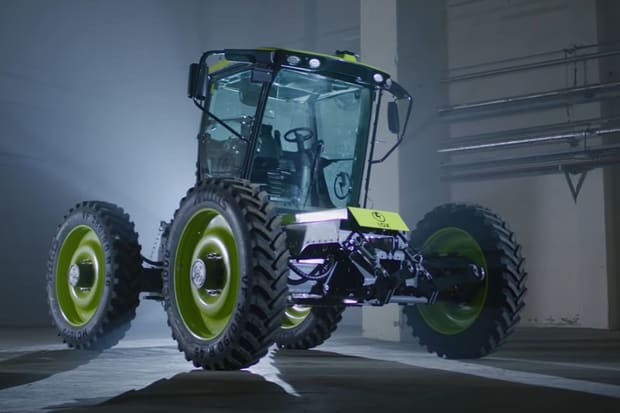tracteur hybride H2Trac EOX-175