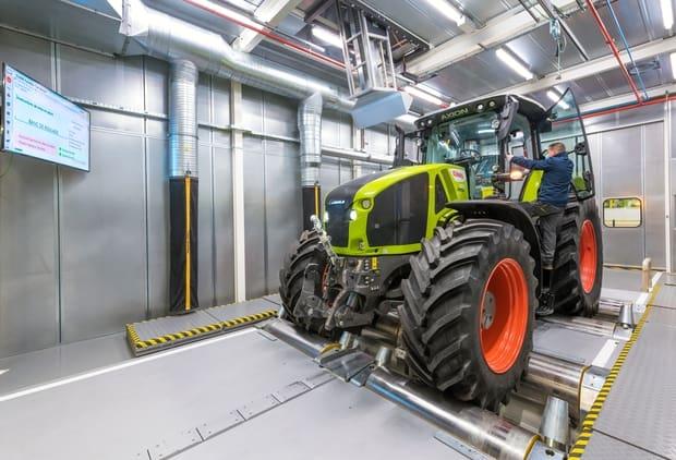 modernisation de l'usine Claas du Mans