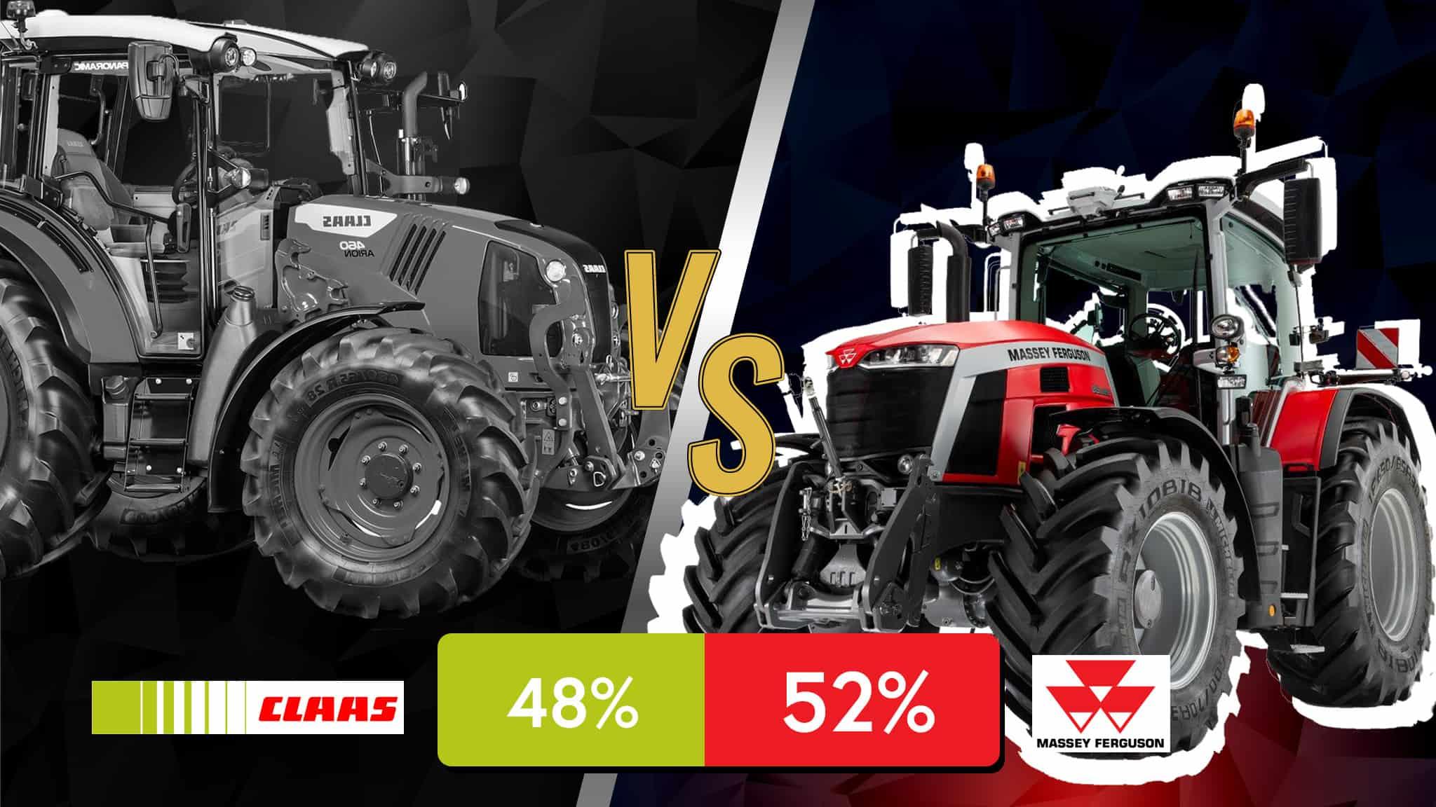 gagnant demi finale claas vs massey ferguson battle tracteur