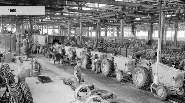usine tracteurs Le Mans Renault Agriculture