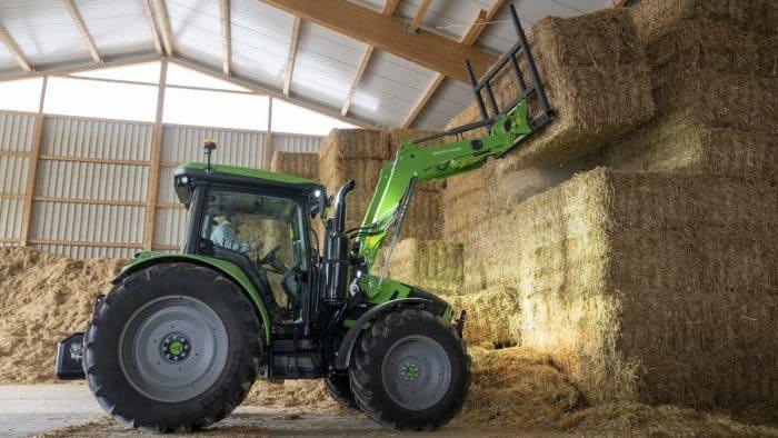 tracteur Deutz-Fahr série 5 Stage V