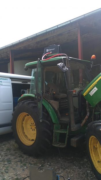 économiser le carburant de son tracteur, banc essai