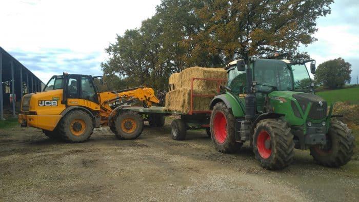 économiser le carburant de son tracteur chantier de transport