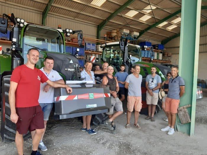 avis autoguidage tracteur Vaucluse