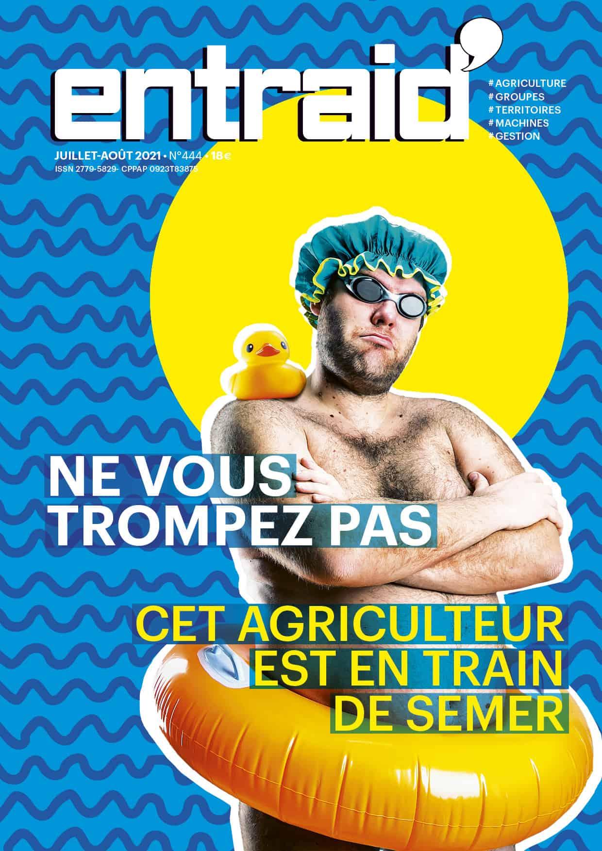 couverture entraid magazine juillet aout 2021