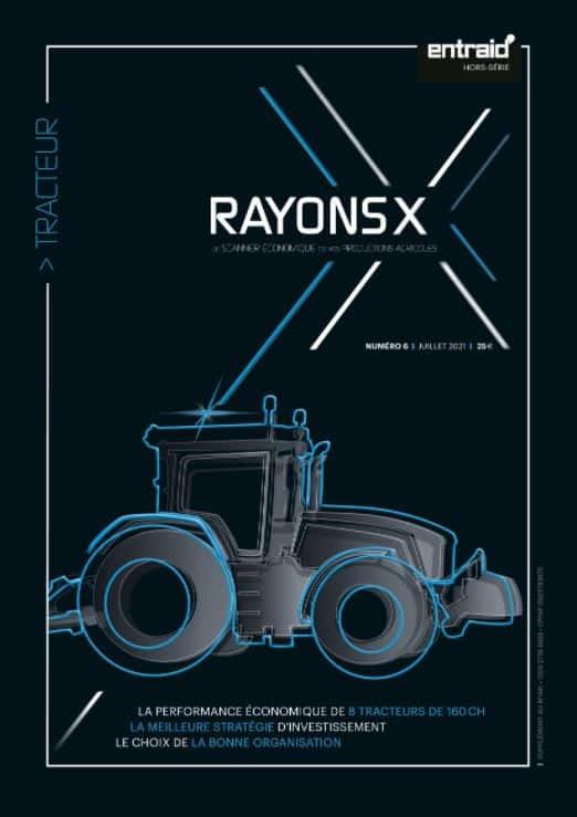 Prix achat prix de vente tracteur rayons X juillet 2021