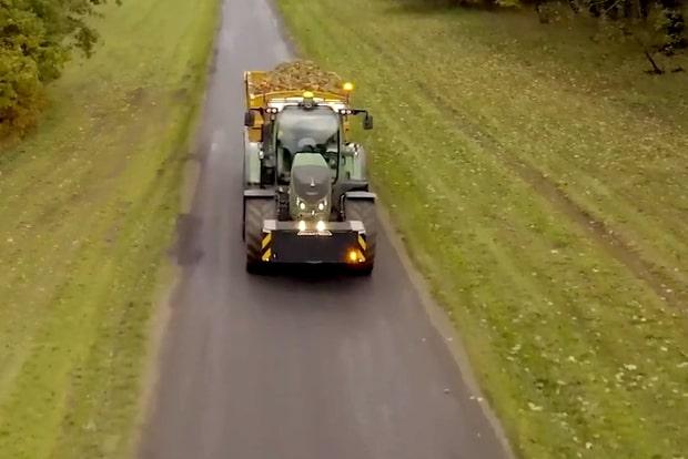 Pneus BKT sur tracteur