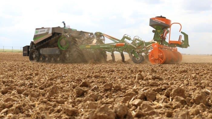 démonstration robot Innov'Agri