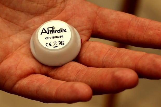 tracker Aptitrack d'Aptimiz
