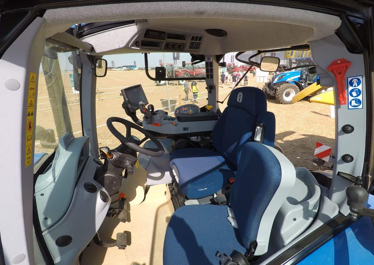 Tracteur agricole innovagri New Holland T6