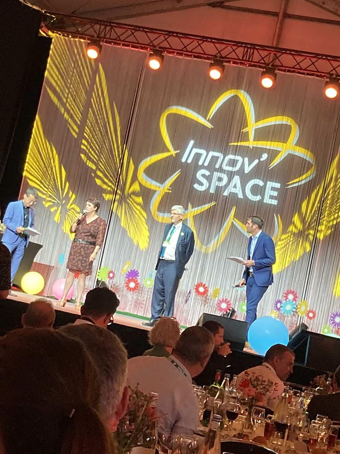 5 mentions spéciales attribuées remise des prix innov'space 2021