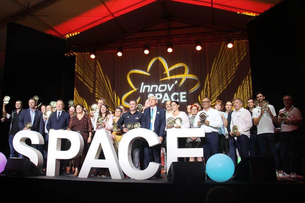 lauréat du concours 2021 de l'innovation du Space
